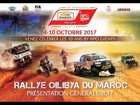 OiLibya - Conférence de presse Rallye 2017