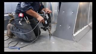 Quicksilver Dealers ONLY! Dump Truck and Trailer LIner Welding Techniques1