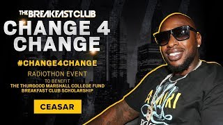 Ceasar 'Black Ink Crew' Checks In To Donate To HBCU's #Change4Change