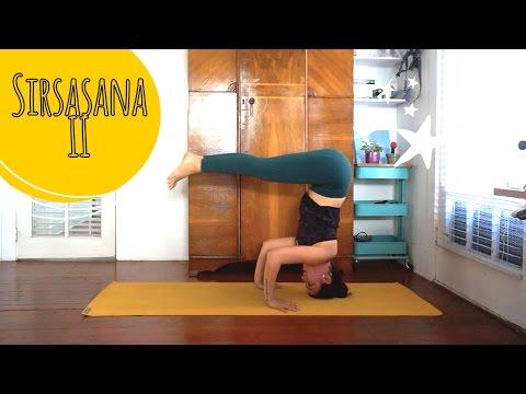 Como se faz: Invertida sobre a cabeça (Sirsasana II) - Yoga no Canal da Pri