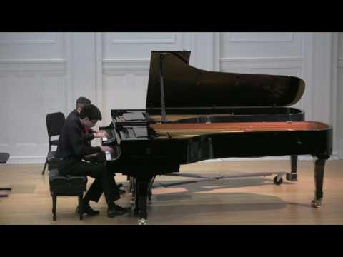 """Bach Double Piano Concerto in C Minor: I. """"Allegro"""""""