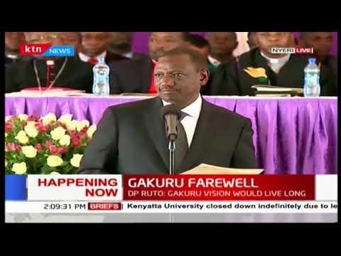 DP William Ruto's address to opposition leader Raila Odinga