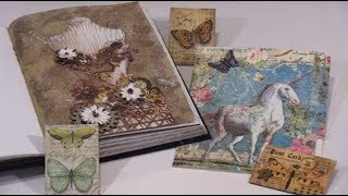Creating With Stamperia Rice Paper Part 2 by Joggles.com