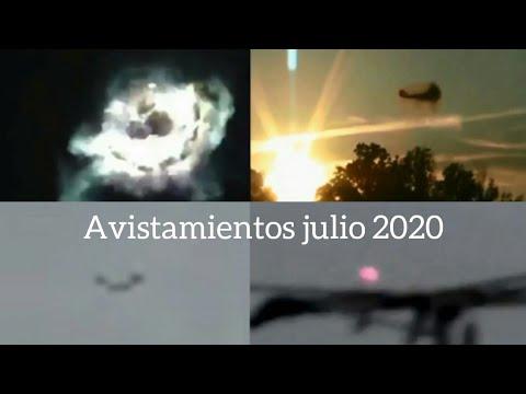 Nuevos avistamientos de julio 2020 ovni ufo