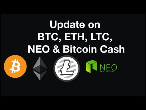 Update on Bitcoin, Bitcoin Cash |  Watching ETH here for a potential breakout!