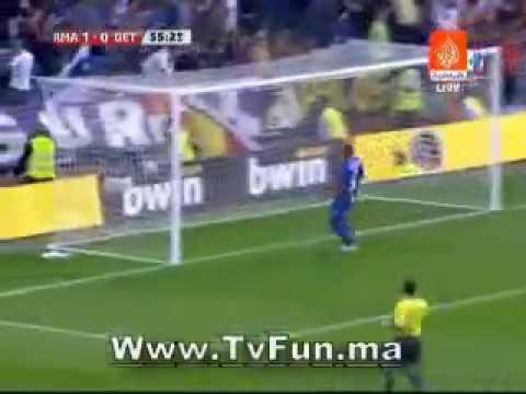 ريال مدريد 2 - 0 خيتافي االدوري الاسباني