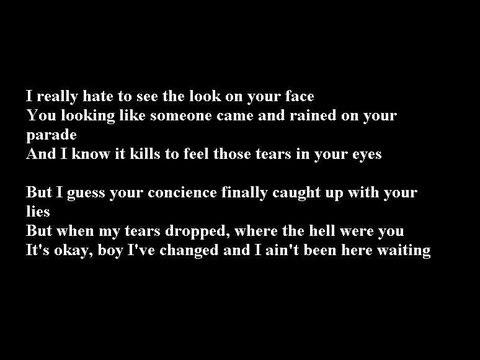 Kelly Rowland-You Changed Lyrics