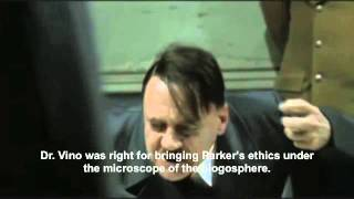 Hitler reacts to Robert Parker scoring a Napa Cabernet 100 points