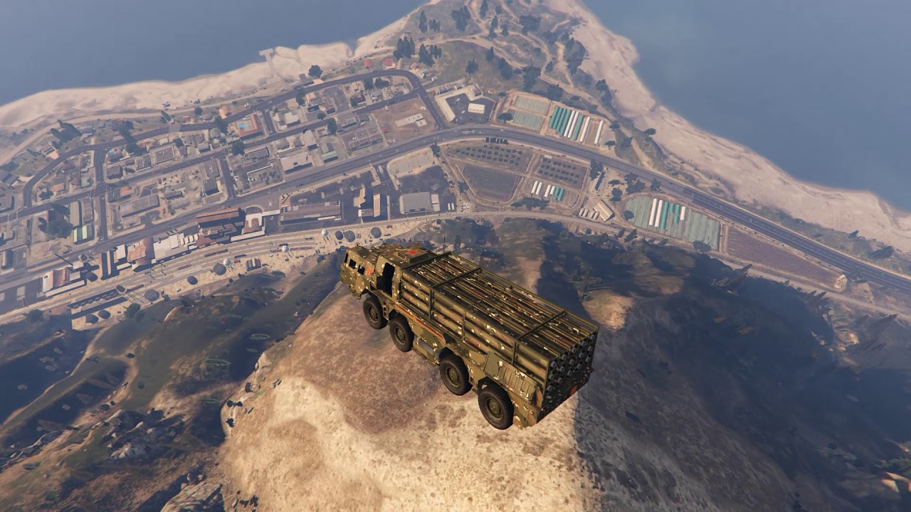 GTA Online Players Use Missile Launcher To Break Physics