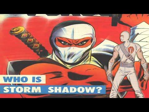 History And Origin Of GI Joe's STORM SHADOW !