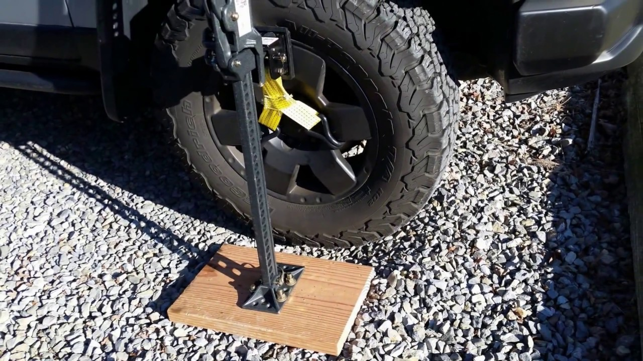 Diy Stabilizer Base For Hi Lift Jack Adding Stability To
