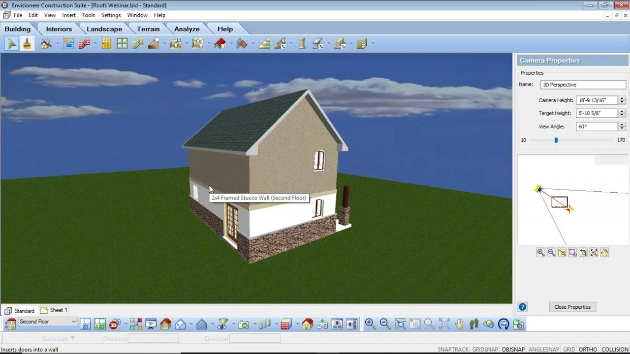 Home Design Software Tutorial On Roof Design In