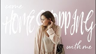 COME HOME SHOPPING WITH ME   Hello October Moving Vlog