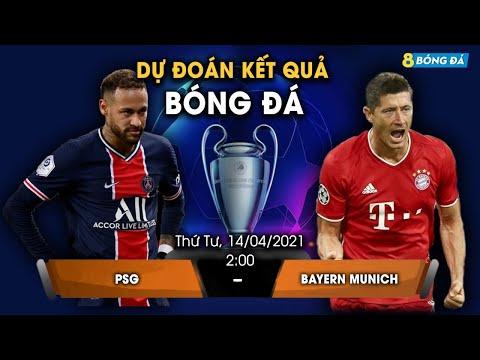 SOI KÈO, NHẬN ĐỊNH BÓNG ĐÁ HÔM NAY PSG VS BAYERN 2h, 14/4/2021 - CHAMPION LEAGUE