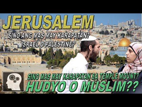 JERUSALEM - Bakit PINAG-AAGAWAN ???   Jevara PH
