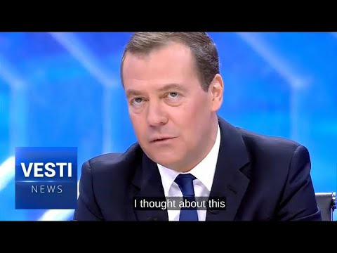 Medvedev Answers Question on All Westerners' Mind: Will He Run for President?