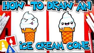 How To Draw Vanilla Ice Cream Soft Serve
