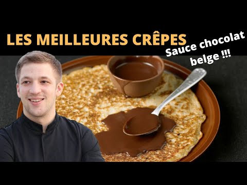 la-meilleure-recette-de-crêpes-une-sauce-au-chocolat-belge-!!!
