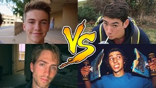 TOP 5 BEST YouTube TRAMPOLINE FLIPPERS | Tanner Braungardt, Funk Bros, Gavin May