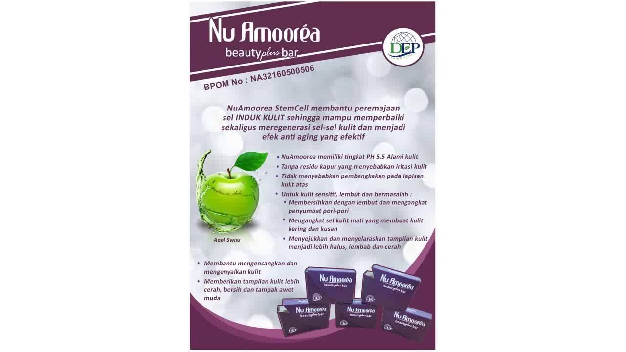 manfaat NU Amoorea Stem Cell dengan ekstrak apel yang mnenangkan