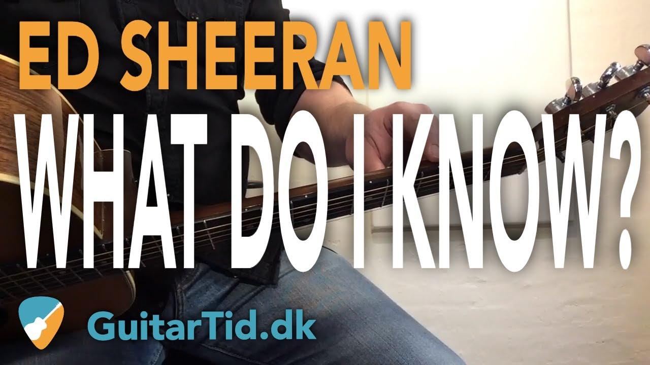Lær Ed Sheerans