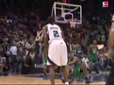 Joe Johnson Breaking Leon Powe Ankles And Makes A 3