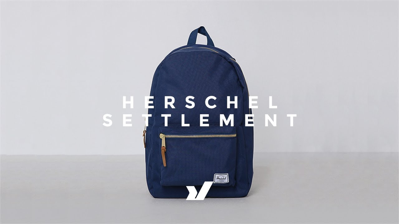 86714ac76a8 The Herschel Settlement Backpack - YouTube