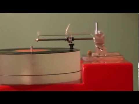 DIY turntable w/linear tracking tonearm