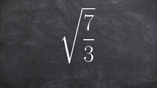 Simplify a fraction unḋer a square root - Legal cheating for math
