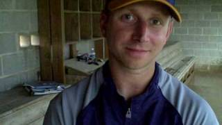 Williamsville baseball coach Jess Buttry talks about Monday's suspended game.