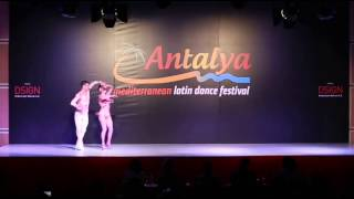 ABDA DANCERS Cem&melisa  WLDC ANTALYA 2015 New Show