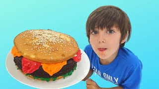 Zack Cake & food challenge for Dad