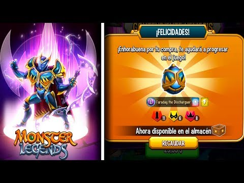 😱EL FIN De VOLTAIK!! ME COMPRO El NÉMESIS FARADAY! - Monster Legends