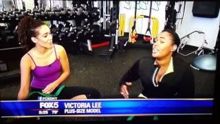 Victoria Lee Plus. Size Model Trend