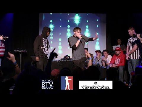 Paris Reed vs Bloomer / Top 16 - American Beatbox Championships 2015