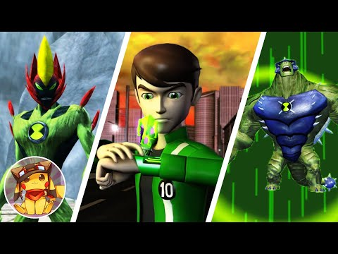 BEN 10 Ultimate Alien Cosmic Destruction - Part 1 - The Catacombs - Walkthrough (2010) [1080p]