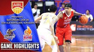 CLS Knights Indonesia vs Tanduay Alab Pilipinas | HIGHLIGHTS | 2017-2018 ASEAN Basketball League