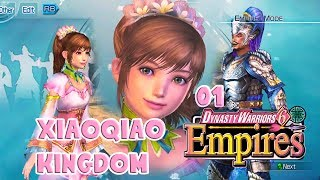 Dynasty Warriors 6 Empires Xiao Qiao Kingdom 01 [Xbox360 Gameplay with Commentary]