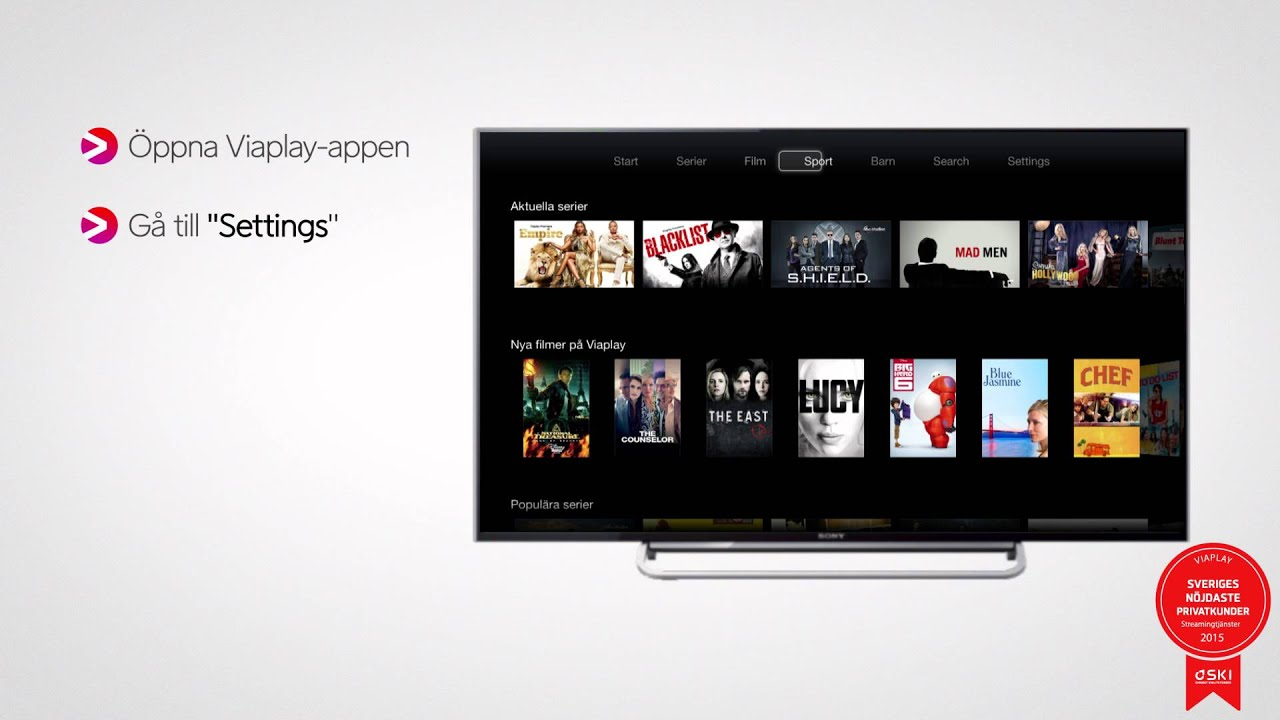 viaplay i apple tv