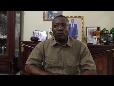 NGOYI KASANJI annonce l'arrivée du Candidat FCC SHADARY à Mbujimayi