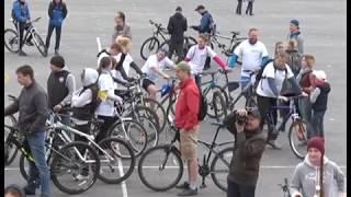 Велоспорт - в массы! В Ульяновске 250 человек участвовали в велопробеге