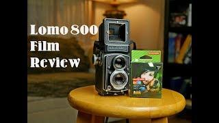 Lomography Color Negative 800 film review