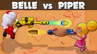 🎯 BELLE vs PIPER 🎯 1vs1 🎯 The best SNIPER
