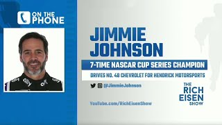 Nascar's Jimmie Johnson Talks Retirement, Confederate Flag & More With Rich Eisen | Full Interview
