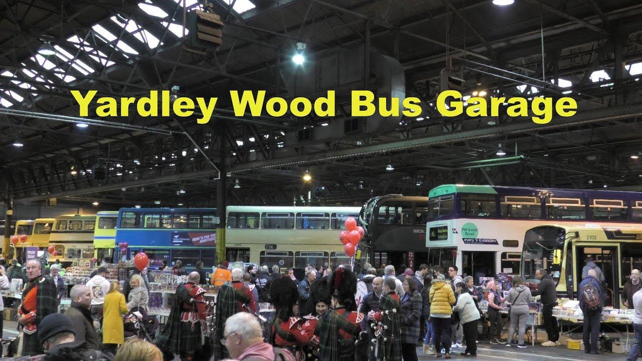 Celebrating 80 Years Of Yardley Wood Bus Garage Youtube