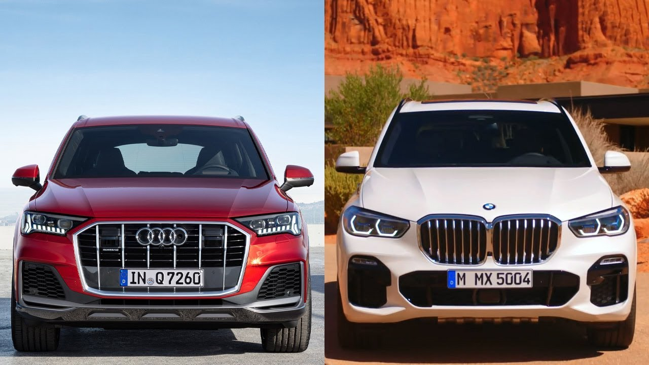 2020 audi q7 vs 2019 bmw x5 - complete design  u0026 features comparison
