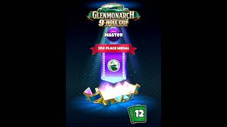 Golf Clash, Prizechest opening, 2nd place Glenmonarch 9 Hole Cup - Master! / Видео