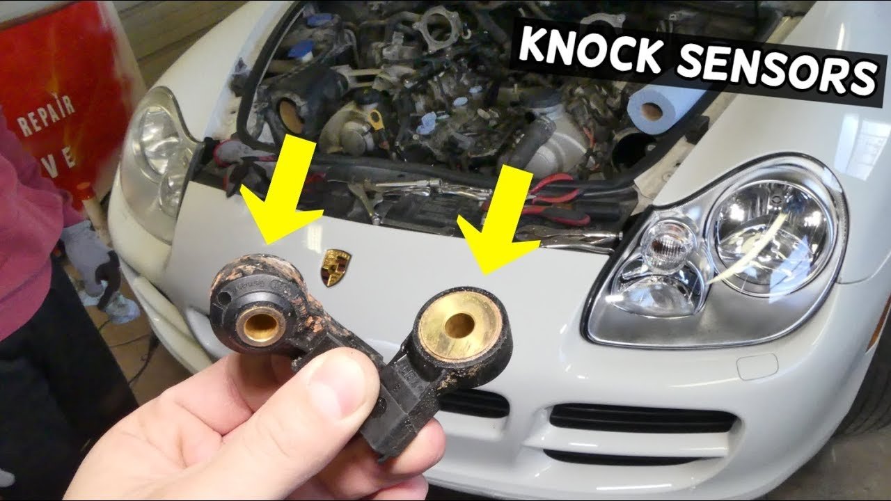 How To Remove And Replace Knock Sensor Bank 1 Bank 2 Porsche Cayenne