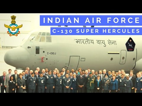 Indian Air Force C-130 Super Hercules Delivery
