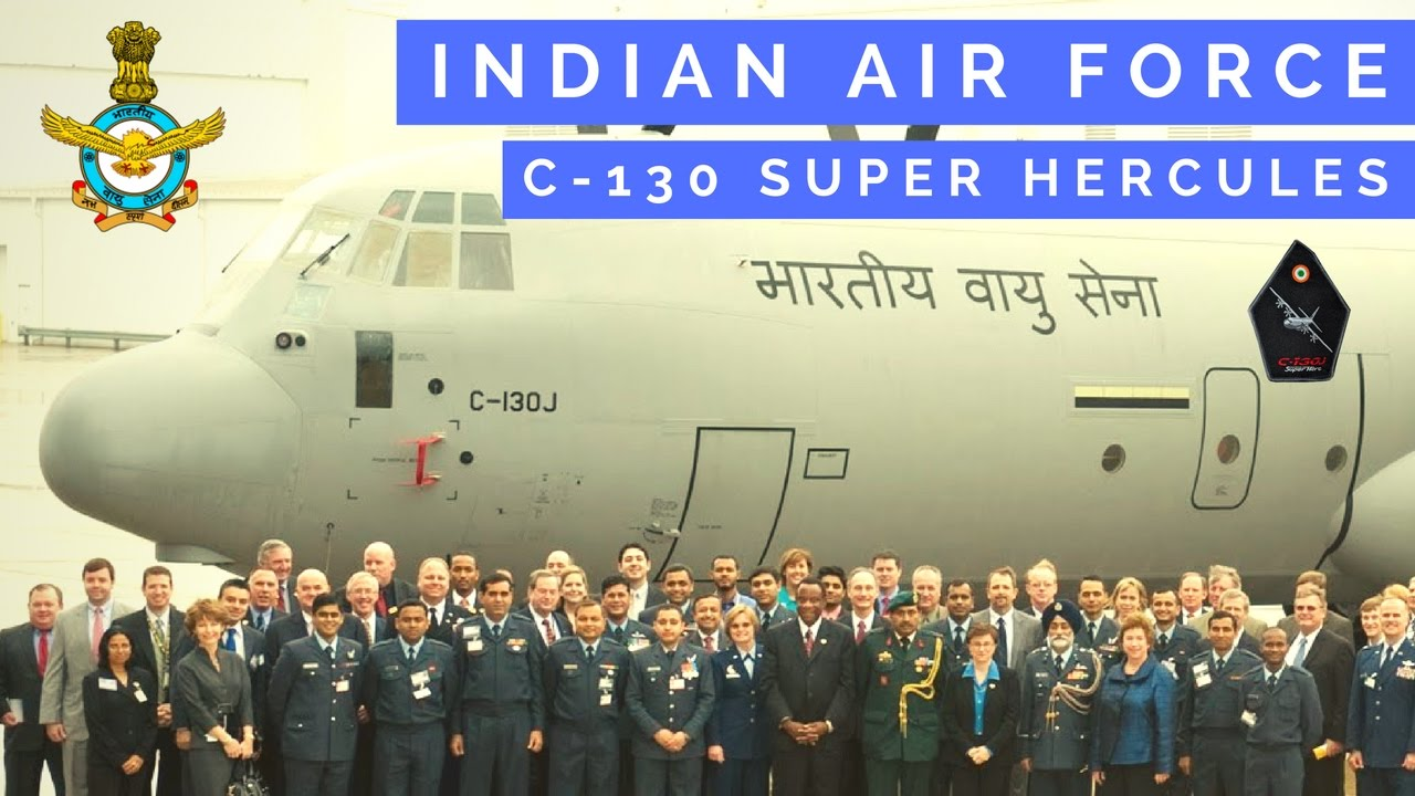 Indian Air Force C 130 Super Hercules Delivery